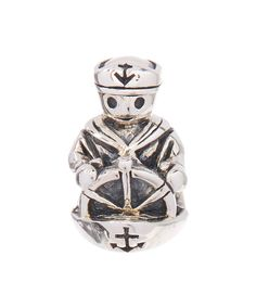 Love this Sterling Silver Captain Bead by Moress on #zulily! #zulilyfinds