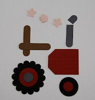 x Stampin' Up! Punch Art Tractor