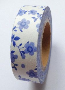 A multi-use adhesive masking tape set.  This masking tape set will give you fun ideas about how to decorate stuff.  It is easily to cut and peel off.