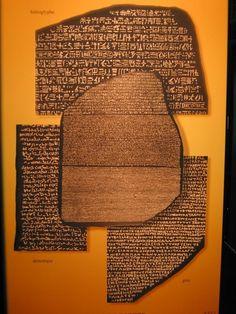 The Rosetta Stone. British Museum, London. Imposing!! - History of Macedonia the ancient kingdom of Greece  #History #Macedonia #kingdom #Greece #hieroglyphs #rosetta #Ptolemy #Egypt #Cleopatra #Greek #British #Museum #art #artefacts
