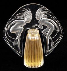 Lalique scent bottle