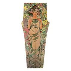 "Die Rose By #Alfons #Mucha 1898  Full Print #Leggings  from Manda s Macabre - Vintage, ""Public Domain"", ""Art Nouveau"", ""Alfons Mucha"", ""Alphonse Mucha"", ""Donna Orechini"", Donna, Orechini,  - #Vintage #PublicDomain #ArtNouveau #AlfonsMucha #AlphonseMucha #Art #Nouveau #Alfons #Mucha #Alphonse"