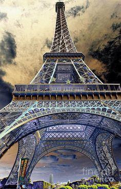 Eiffel Tower, Paris, France by Chuck Kuhn Torre Eiffel Paris, Paris Eiffel Tower, Kitzingen Germany, Places To Travel, Places To See, Paris Love, Paris Paris, Tours, Paris Travel