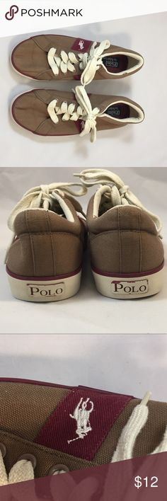 Polo by Ralph Lauren Canvas Shoes Size 9 Z Polo by Ralph Lauren Shoes Sneakers