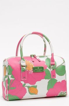 Kate Spade New York 'high falls - melinda' satchel. I'd take this shopping on holiday.