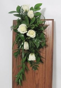 Pew Decorations with Flowers - Easy DIY Wedding Flower Tutorials