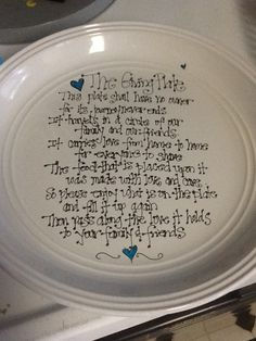 The Giving Plate....great gifting idea!