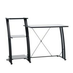 Tiered Desk - Black