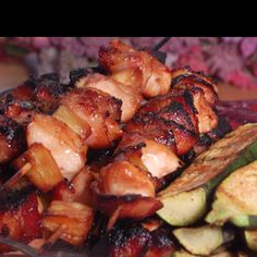 Teriyaki Chicken & Kansas City BBQ Sauce