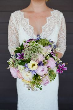Fluffy Purple Bouquet | photography by http://abritandablonde.com/ | floral design by http://www.mimosaflowers.com/ | event design/styling by http://www.parasevents.ca/