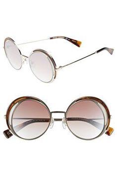 10b984c55bfc MARC JACOBS Designer 51mm Round Sunglasses