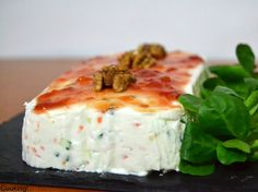 Pastel salado de queso Philadelphia y verduritas | Cuuking! Recetas de cocina