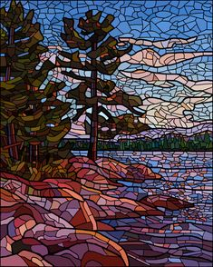 Mosaic Artwork, Mosaic Wall Art, Mirror Mosaic, Mosaic Glass, Mosaic Tiles, Glass Art, Sea Glass, Mosaics, Stained Glass Paint