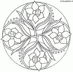 Mandala kleurplaat kleurplaten 3214