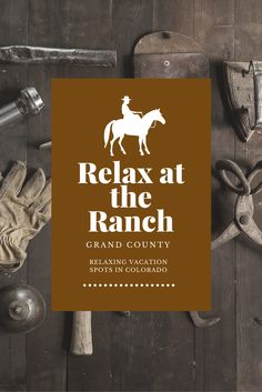 Whether your ideal Colorado lodging experience includes the romance of a rustic log cabin, an open-air tent under the stars or an upscale resort and spa, Grand County, Colorado has accommodations to fit every need and budget! #ranch #relax #vacation #grandcounty #colorado