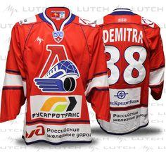 100%™ KHL Yaroslavl Lokomotiv. Pavol Demitra Ilya Kovalchuk 0991309fc18