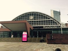 Manchester Central...Ready for the doors to open!
