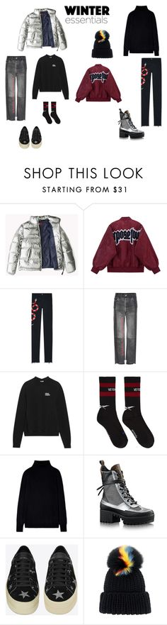 """""""po_magazam"""" by neiman-bags on Polyvore featuring мода, Gucci, Vetements, Yves Saint Laurent и Eugenia Kim"""
