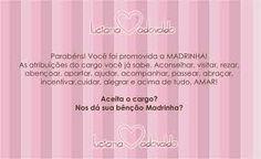 convite para madrinha de batismo de menina rosa e dourado png - Pesquisa Google