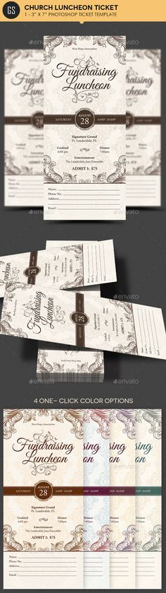 Church Anniversary Banquet Ticket Template Ticket template - banquet ticket template