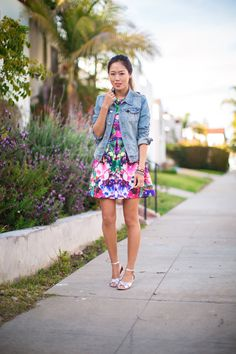 Floral for Work, Floral for Fun.   Song of Style
