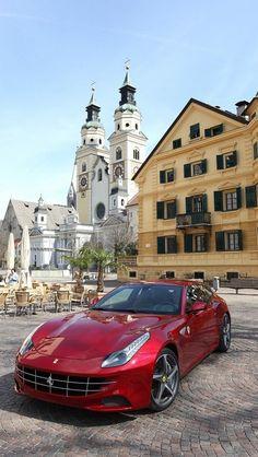 Ferrari. I'll be driving it in my next life. :)