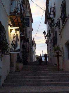Las calles de Altea. Restaurante la Claudia Altea, Restaurants
