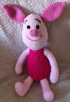 Crochet Pig, Crochet Baby Cocoon, Crochet Dragon, Crochet Teddy, Crochet Toys, Free Crochet, Minion Crochet Patterns, Disney Crochet Patterns, Crochet Disney