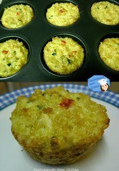 Cozinhando sem Glúten: Tortinhas de Quinoa