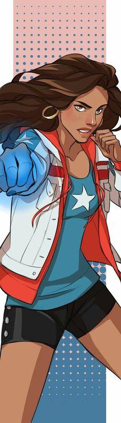 America Chavez by dorodraws