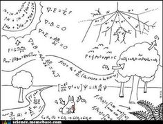 Physics, physics, everywhere! :) /// And the world was founded on principles - beautiful mathematics/