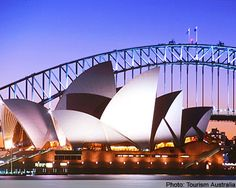 The Syndey Opera House. I'm not even a fan of opera, but I must see this place in my lifetime.