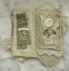 Fabric Collage Book of French Cherubs