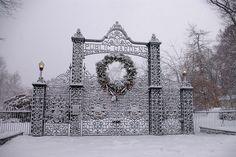 Public Gardens, Halifax, in winter by S A Ernst, via Flickr