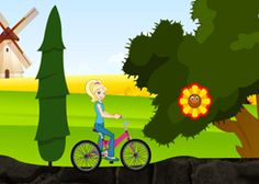 JuegosPolly.com - Juego: Paseo en Bicicleta - Jugar Gratis Online