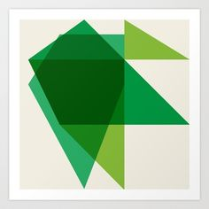 Untitled 6.28.12 Art Print by Richard Blanco - $23.00