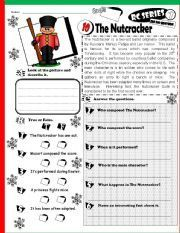 This is a picture of Transformative Nutcracker Worksheets Printable