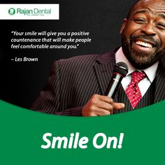 Smile on! Your smile will give you a positive countenance that will make people feel comfortable around you. Chennai, Dental Quotes, Dental Hospital, Les Brown, Dental Implants, Oral Health, Dentistry, Clinic, Positivity