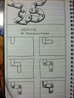 """Jointz Tangle"" Steampunk Chain Tangle, Jewellery Inspiration.."