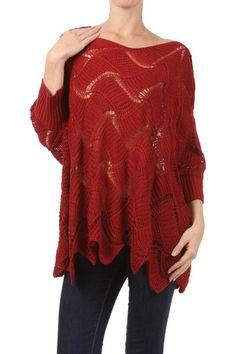 Crochet Oversize Sweater - this looks soo comfy!!