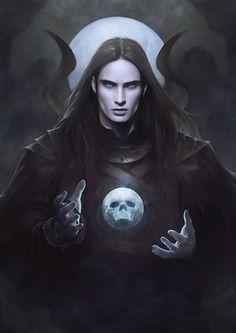 Necromancer, Omu Upied on ArtStation at https://www.artstation.com/artwork/NLYn5