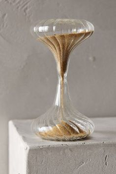 Anthropologie Shimmering Sand Hourglass #AnthroFave