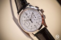 Patek Philippe 5170g-001 Chronograph - review - case and dial