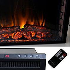 Elektrisches Kaminfeuer Kaminofen Mit LED Flammen Und: Amazon.de: Elektronik