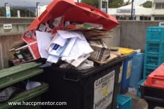 If not managed properly, external garbage bins can both attract pests into your food business and become a pest harbourage. www.haccpmentor.com