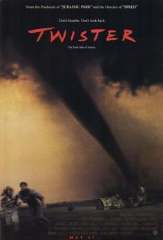 Twister Movie Poster 27 X 40 Helen Hunt, Bill Paxton, Cary Elwes, A Licensed Film Movie, See Movie, Movie List, Helen Hunt, Film Music Books, Music Tv, Movies Showing, Movies And Tv Shows, Twister 1996