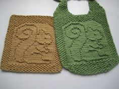 dishcloth and coaster knit patterns - Google Search