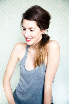 My lovelies, you know the messy side ponytail from J. Crew's spring…