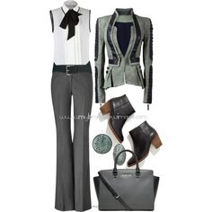 No. 780 - New Business Casual by elke-koscher on Polyvore featuring Andrew Gn, Rachel Zoe, Madewell, MICHAEL Michael Kors and Religion Clothing