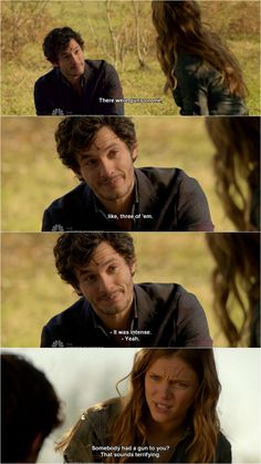 Revolution - Charlie & Connor #Season2 Love her sassiness in this lol